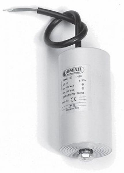 Motorkondensator mit 30-/µF-Kabel Betriebskondensator